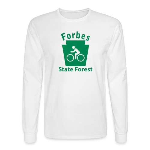 Forbes State Forest Keystone Biker - Men's Long Sleeve T-Shirt