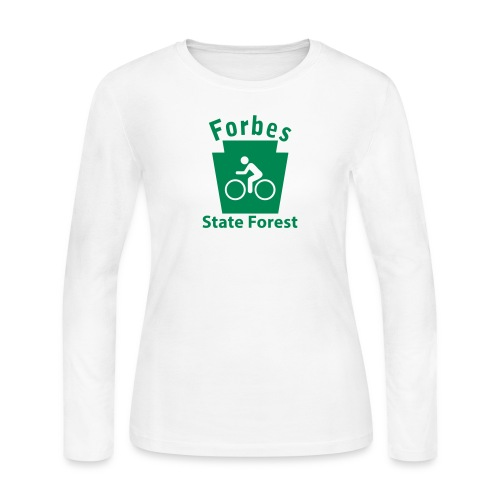Forbes State Forest Keystone Biker - Women's Long Sleeve Jersey T-Shirt