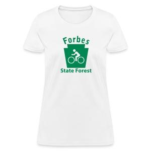 Forbes State Forest Keystone Biker - Women's T-Shirt