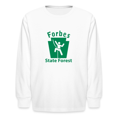 Forbes State Forest Keystone Climber - Kids' Long Sleeve T-Shirt
