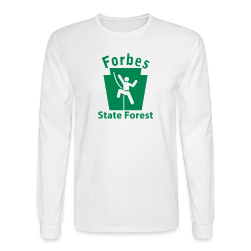 Forbes State Forest Keystone Climber - Men's Long Sleeve T-Shirt
