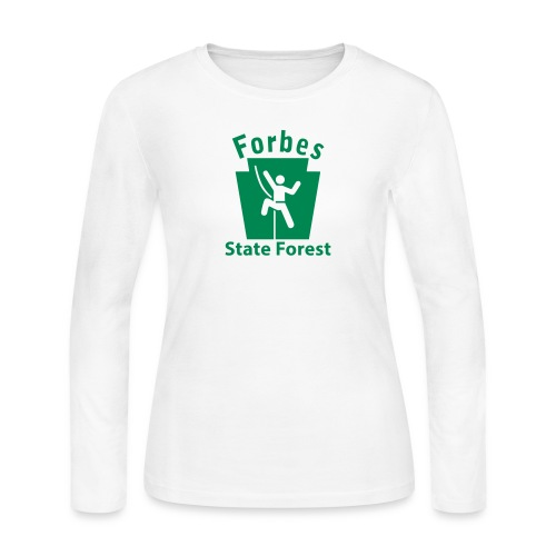 Forbes State Forest Keystone Climber - Women's Long Sleeve Jersey T-Shirt
