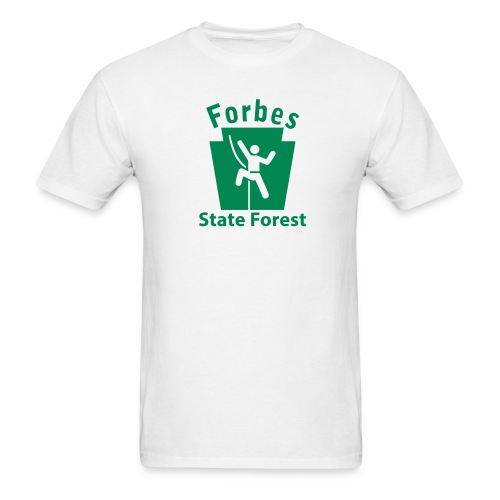 Forbes State Forest Keystone Climber - Men's T-Shirt