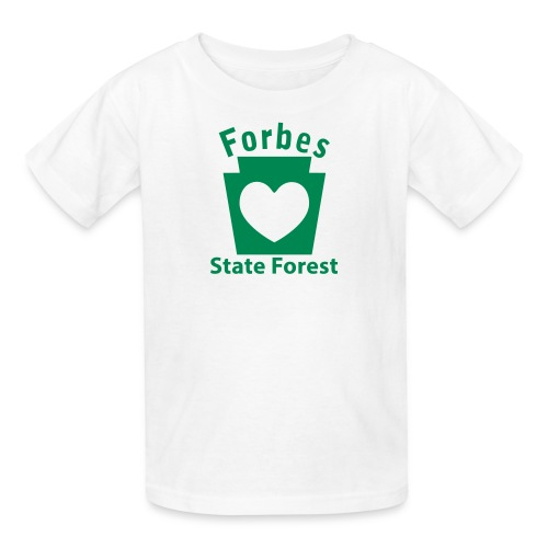Forbes State Forest Keystone Heart - Kids' T-Shirt