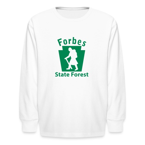 Forbes State Forest Keystone Hiker (female) - Kids' Long Sleeve T-Shirt