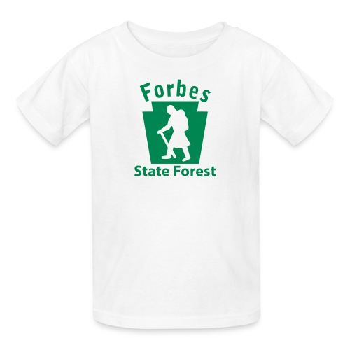 Forbes State Forest Keystone Hiker (female) - Kids' T-Shirt