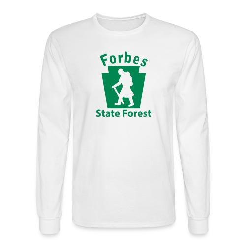 Forbes State Forest Keystone Hiker (female) - Men's Long Sleeve T-Shirt