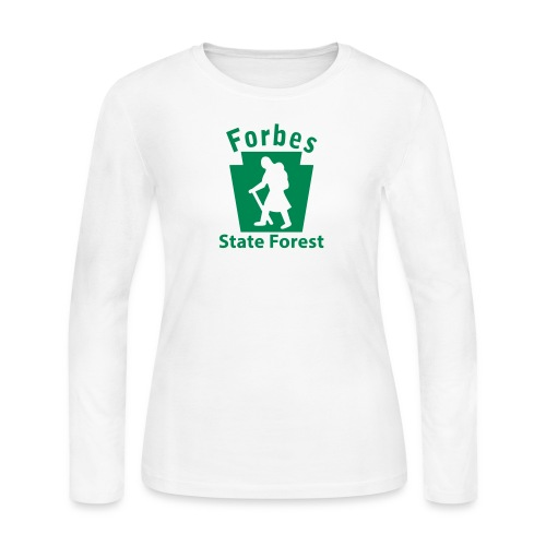 Forbes State Forest Keystone Hiker (female) - Women's Long Sleeve Jersey T-Shirt