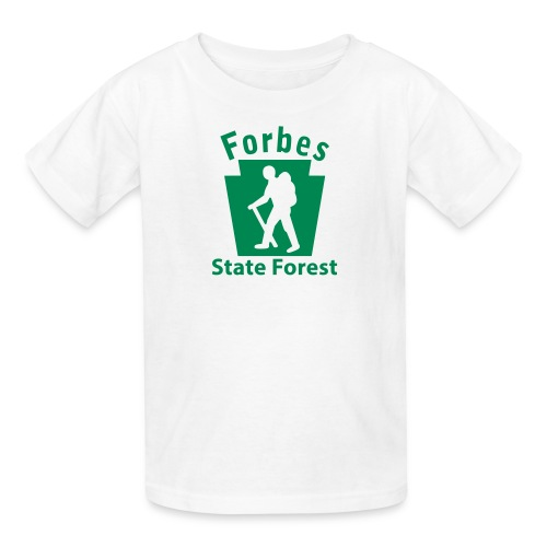 Forbes State Forest Keystone Hiker (male) - Kids' T-Shirt