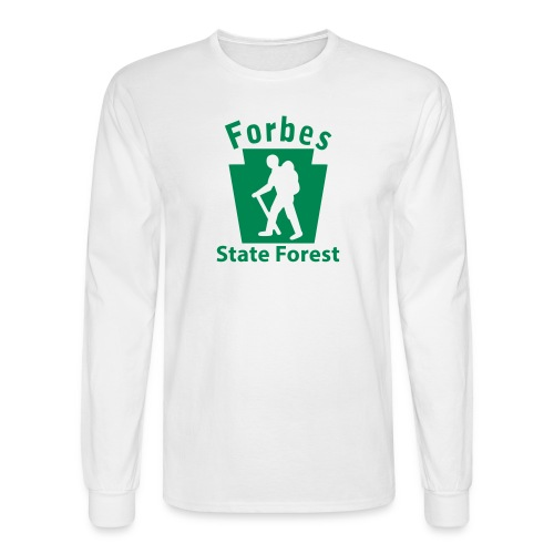 Forbes State Forest Keystone Hiker (male) - Men's Long Sleeve T-Shirt