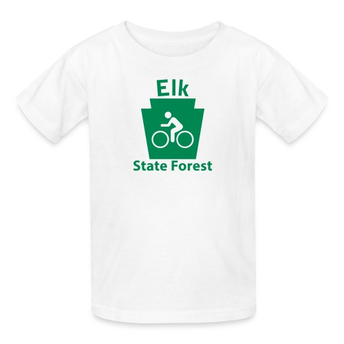 Elk State Forest Keystone Biker - Kids' T-Shirt
