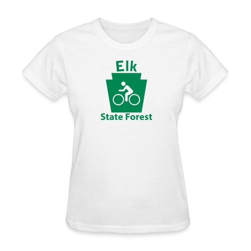 Elk State Forest Keystone Biker - Women's T-Shirt
