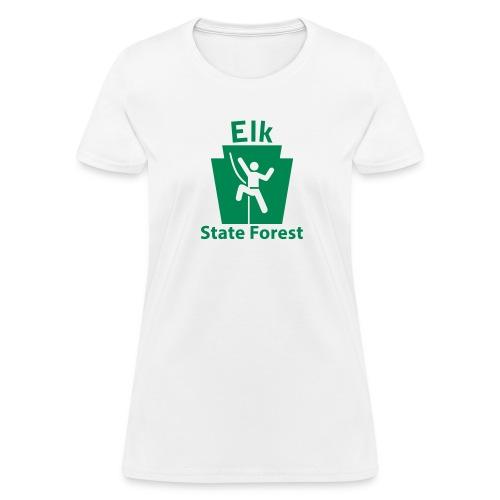 Elk State Forest Keystone Climber - Women's T-Shirt