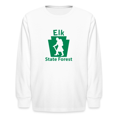 Elk State Forest Keystone Hiker (female) - Kids' Long Sleeve T-Shirt