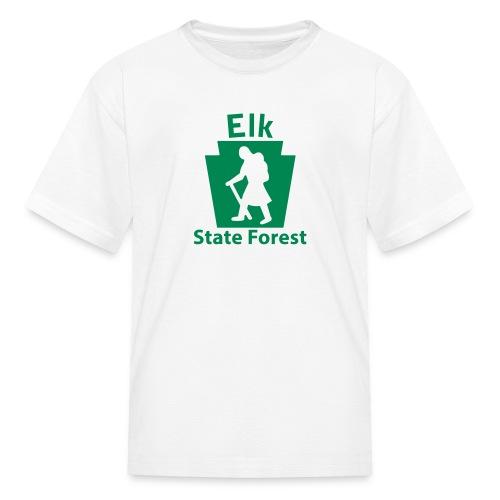 Elk State Forest Keystone Hiker (female) - Kids' T-Shirt