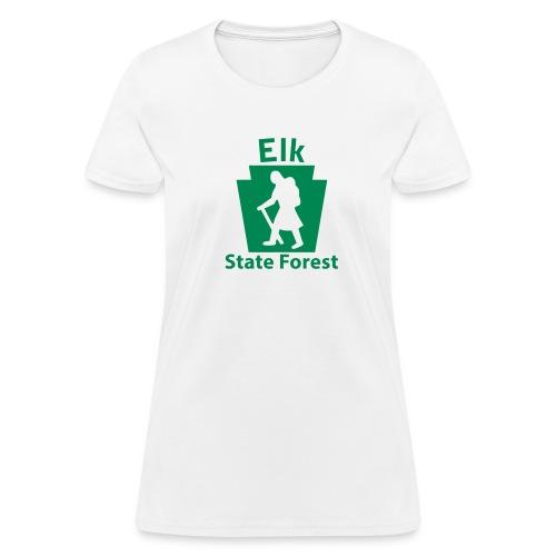 Elk State Forest Keystone Hiker (female) - Women's T-Shirt