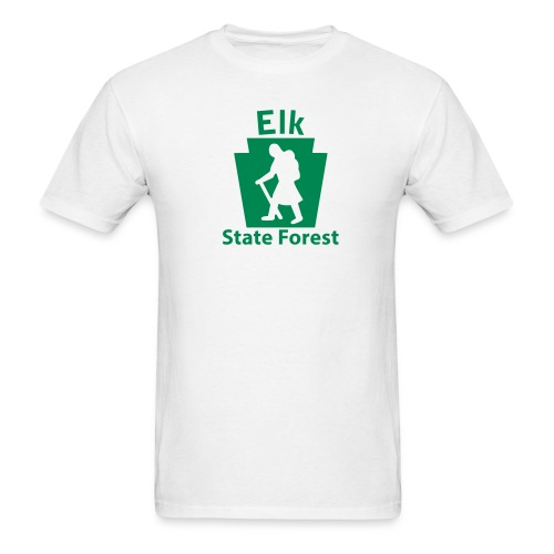 Elk State Forest Keystone Hiker (female) - Men's T-Shirt
