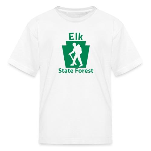 Elk State Forest Keystone Hiker (male) - Kids' T-Shirt