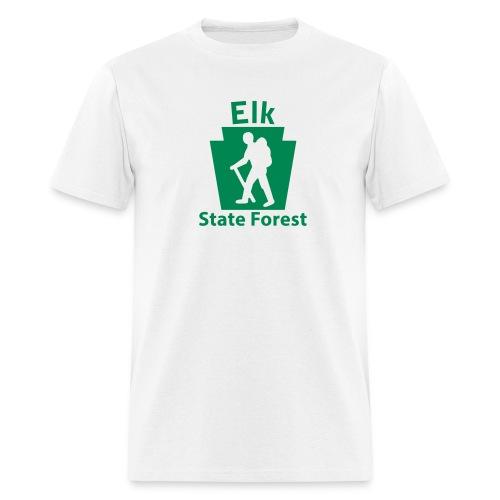 Elk State Forest Keystone Hiker (male) - Men's T-Shirt