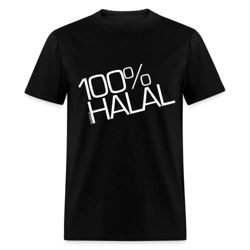 100% Halal - Male - Men's T-Shirt