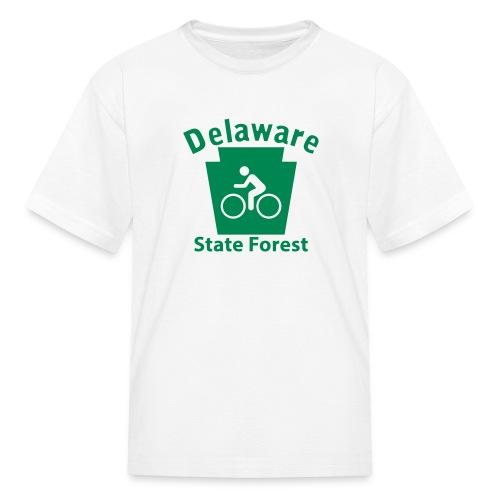 Delaware State Forest Keystone Biker - Kids' T-Shirt