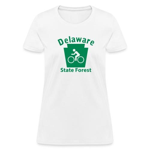 Delaware State Forest Keystone Biker - Women's T-Shirt