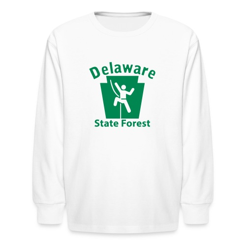 Delaware State Forest Keystone Climber - Kids' Long Sleeve T-Shirt