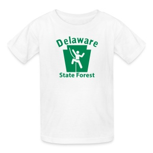 Delaware State Forest Keystone Climber - Kids' T-Shirt