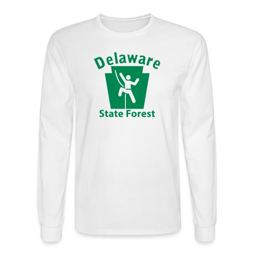 Delaware State Forest Keystone Climber - Men's Long Sleeve T-Shirt