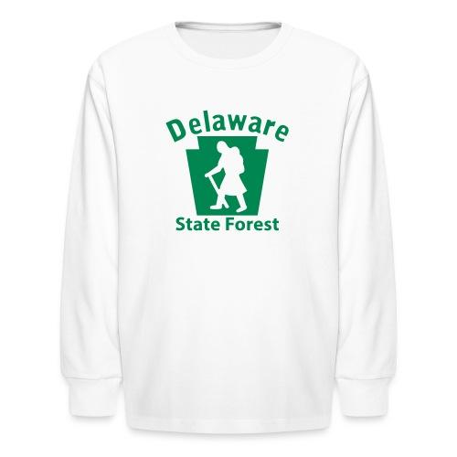 Delaware State Forest Keystone Hiker (female) - Kids' Long Sleeve T-Shirt