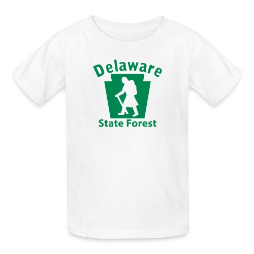 Delaware State Forest Keystone Hiker (female) - Kids' T-Shirt