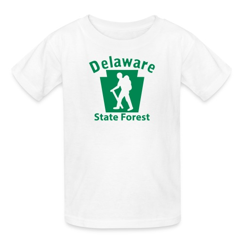 Delaware State Forest Keystone Hiker (male) - Kids' T-Shirt