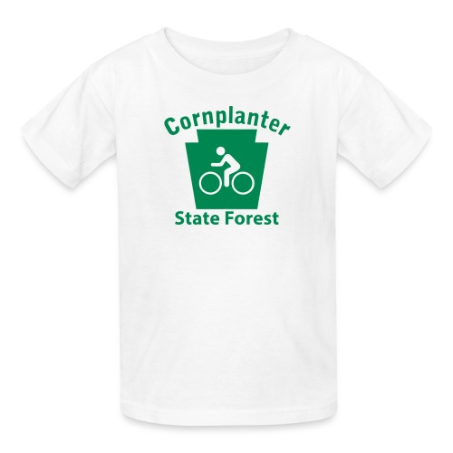 Cornplanter State Forest Keystone Biker - Kids' T-Shirt