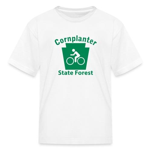 Cornplanter State Forest Keystone Biker - Kids' T-Shirt