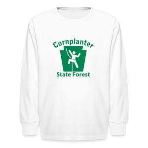 Cornplanter State Forest Keystone Climber - Kids' Long Sleeve T-Shirt