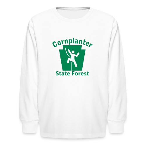 Cornplanter State Forest Keystone Climber - Kids' Long Sleeve T-Shirt