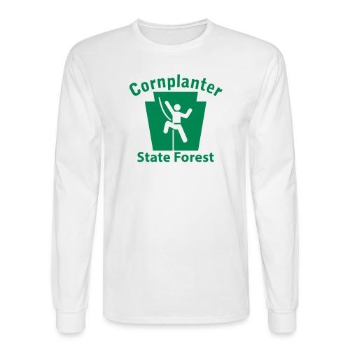 Cornplanter State Forest Keystone Climber - Men's Long Sleeve T-Shirt