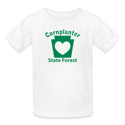Cornplanter State Forest Keystone Heart - Kids' T-Shirt