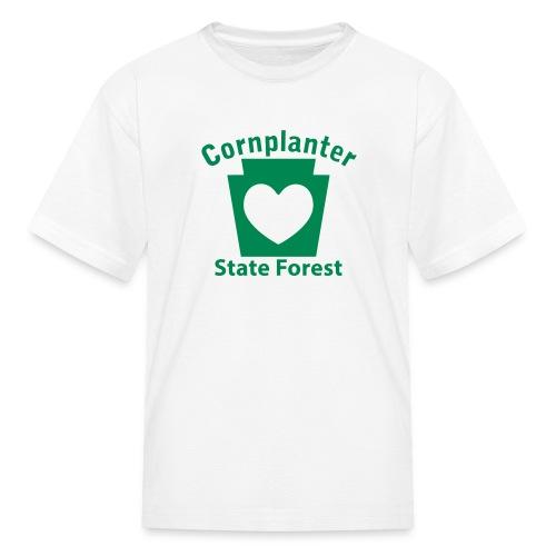 Cornplanter State Forest Keystone Heart - Kids' T-Shirt