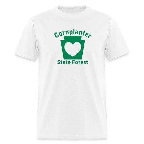 Cornplanter State Forest Keystone Heart - Men's T-Shirt