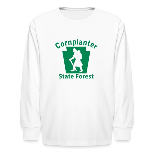 Cornplanter State Forest Keystone Hiker (female) - Kids' Long Sleeve T-Shirt
