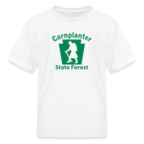 Cornplanter State Forest Keystone Hiker (female) - Kids' T-Shirt