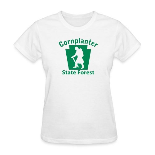 Cornplanter State Forest Keystone Hiker (female) - Women's T-Shirt
