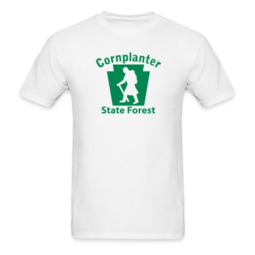 Cornplanter State Forest Keystone Hiker (female) - Men's T-Shirt