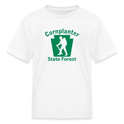 Cornplanter State Forest Keystone Hiker (male) - Kids' T-Shirt