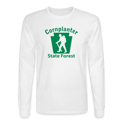 Cornplanter State Forest Keystone Hiker (male) - Men's Long Sleeve T-Shirt