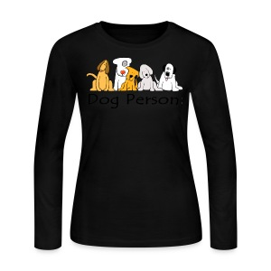 Dog Person - Women's Long Sleeve Jersey T-Shirt