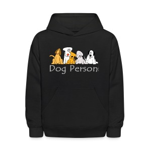Dog Person - Kids' Hoodie