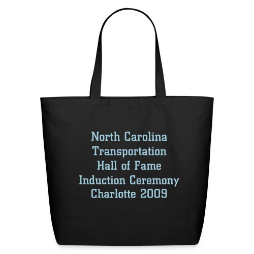 Tote-Black/PowderBlue - Eco-Friendly Cotton Tote