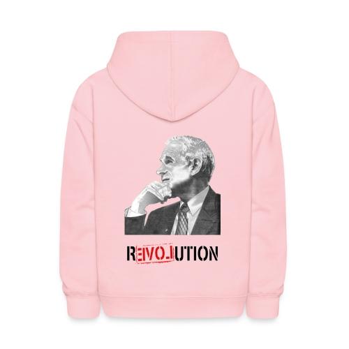 Ron Paul Revolution - Colored Kid's Hooded Sweatshirt - Kids' Hoodie